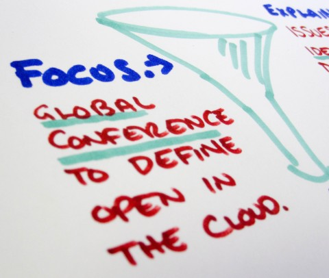 middle of funnel - define what we mean by open in the cloud