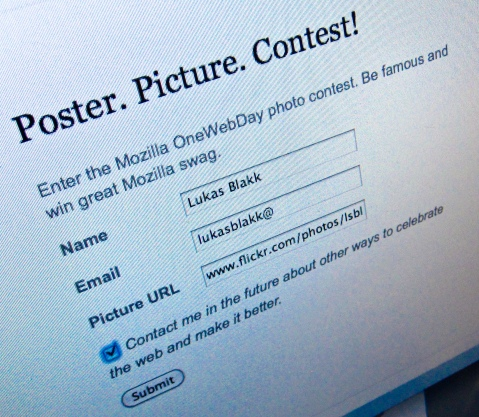 Enter the contest