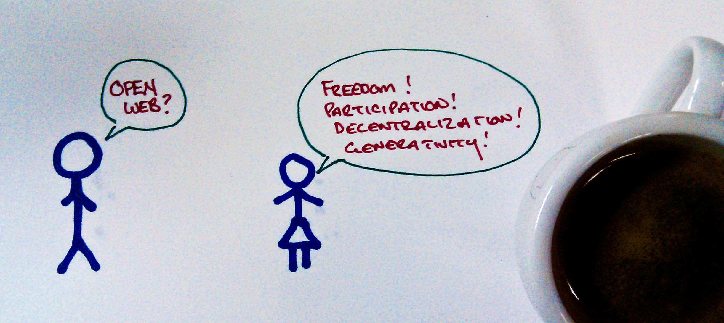 Open Web? Freedome, participation, decentralization, generativity