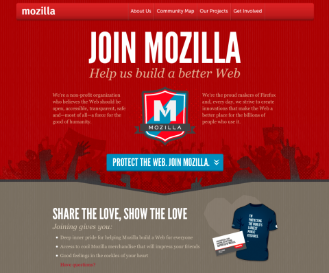 Join Mozilla beta  Help us test and refine  | commonspace