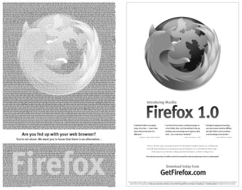 Firefox New York Times Ad