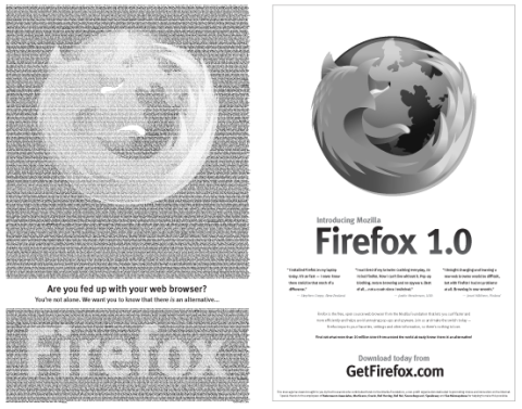 Firefox New York Times Ad